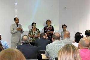 Manuela de Paz ha abierto el curso sobre logística.