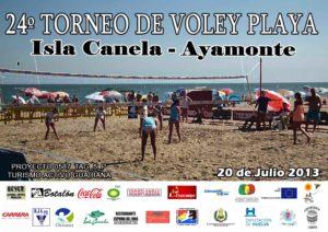 Torneo de voley playa en Isla Canela.