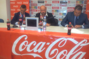Convenio del Recreativo con Coca-Cola.