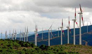 La energía eólica estaba adquiriendo gran importancia a nivel provincial.