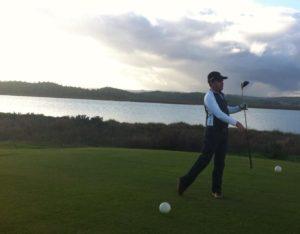 Campo de golf de Costa Esuri.