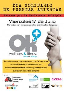 Cartel de la actividad 'Entrena por la esclerosis múltiple'