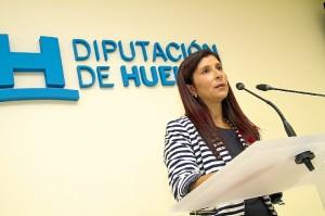 Esperanza Cortés, diputada del Área de Desarrollo Local, Innovación, Medioambiente y Agricultura.