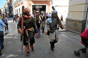 Jornadas medievales en Zalamea la Real.