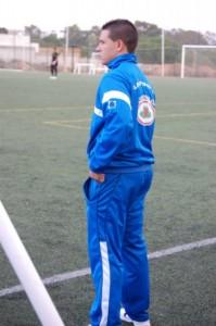 Joaquín Rasco, segundo entrenador del Cajasol San Juan.