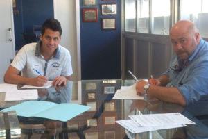 Jorge Larena con Pablo Comas.