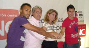 Jorge Larena y Jorge Araujo, nuevos jugadores del Recreativo de Huelva.