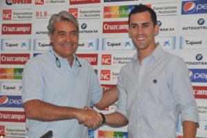 Linares junto a Fernando Iturbe.