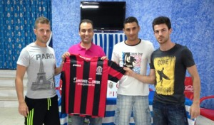 Renovaciones de jugadores del CD Pinzón.
