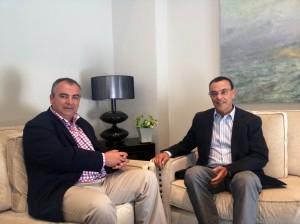 Ignacio Caraballo y José Antonio Fernández Pérez.