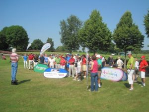 Torneo de golf en Munich.