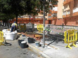Obras para eliminar barreras arquitectónicas.