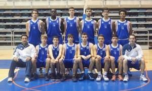 Equipo del CD Huelva Baloncesto.