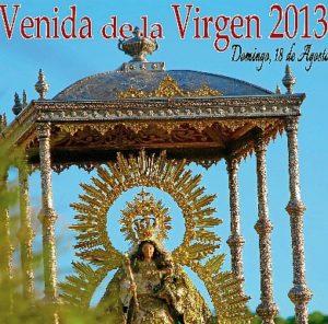 Detalle del cartel de la Venida de la Virgen de Montemayor 2013.