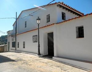 Aspecto exterior del nuevo museo en Cortelazor.