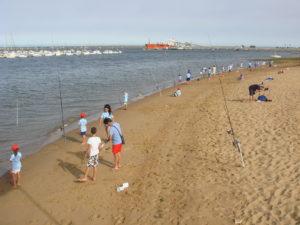 Pesca en la Semana Náutica Colombina.