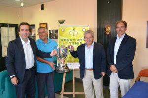 Presentación de la 88 Copa del Rey de tenis de Huelva.