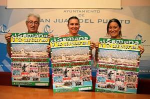 Presentación del cartel de la Semana Cultural de San Juan.
