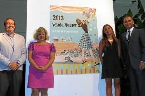 Presentación del cartel de las fiestas patronales de Moguer.