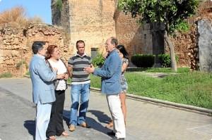Dirigentes del PSOE visitan Niebla.