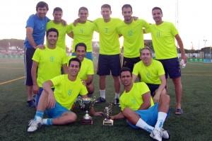 Equipo 'La Quinta del Negro' de fútbol 7.