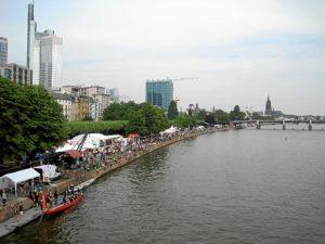 La feria de la Ribera de Frankfurt es una de las más importantes de Europa.