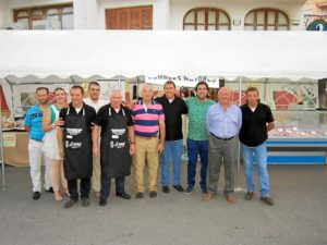 Embajadores de Cumbres Mayores en Firpobla 2013.