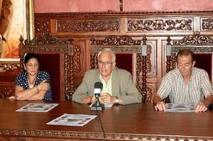 Presentación del Festival Flamenco en Ayamonte.