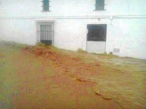 Inundaciones en Cala. (@celiaeslopez)