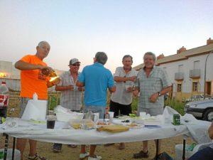 Jornada en los Huertos Municipales de Trigueros.