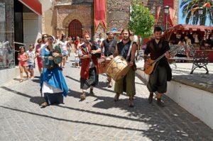 La música celta llega a las jornadas medievales.
