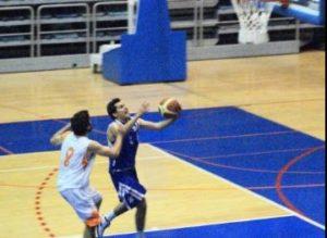 Miguel Raluy, escolta del CD Huelva Baloncesto.