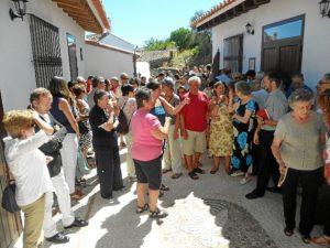 Los vecinos de Cortelazor respaldaron la apertura del museo.