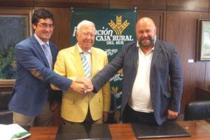 Convenio Caja Rural con el Recreativo de Huelva.
