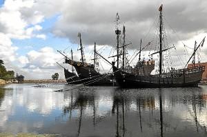 Imagen del Muelle de las Carabelas.