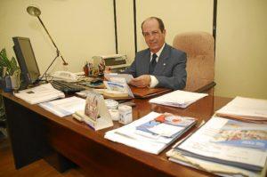 José Manuel Barranco, en su despacho. (Antonio Luis DelgadoI)