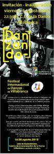 Uno de los folletos promocionales del Festival de Danza.