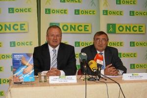 Presentación del balance en Huelva de la ONCE.