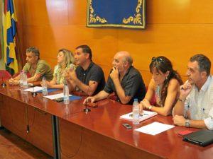 Reunión del Año de Platero en Moguer.