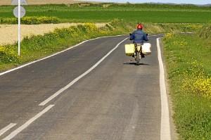 Una de las carreteras donde se ha actuado.