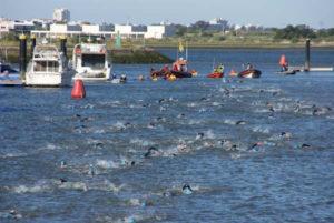 Sector de natación del I Iberman La Luz.