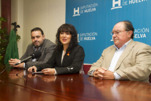 Convenio entre Diputación Provincial, Delegación Onubense de Baloncesto y Banco de Alimentos.