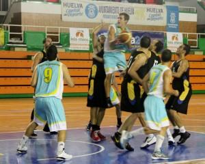 Partido entre el CDB Enrique Benítez y CB Palos.