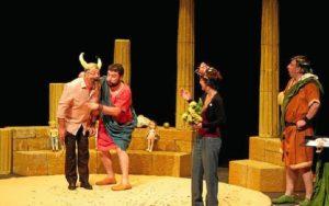 Imagen de archivo de la representación de la obra que este viernes llega a Cartaya.