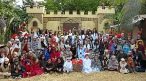 Foto de todos los participantes el pasado año.