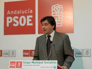 Gabriel Cruz en rueda de prensa.