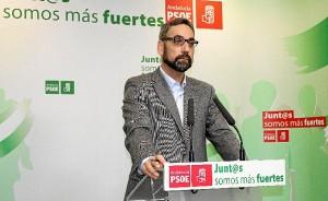 Antonio Rodríguez Castillo en rueda de prensa.