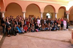 Estudiantes en Ayamonte.