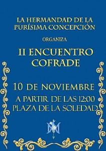 Cartel del Encuentro Cofrade.