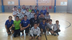 Club Voleibol San Bartolomé.